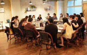 玉肌シリカ天然水座談会